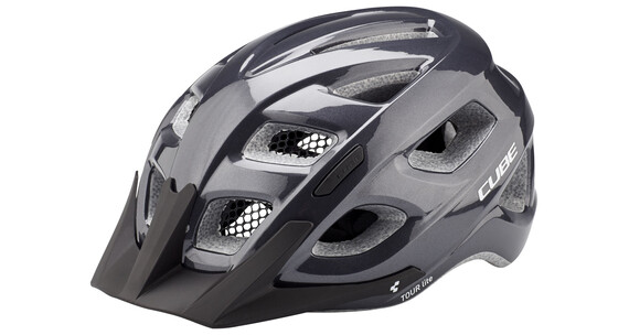 Cube Tour Lite Helmet black metallic